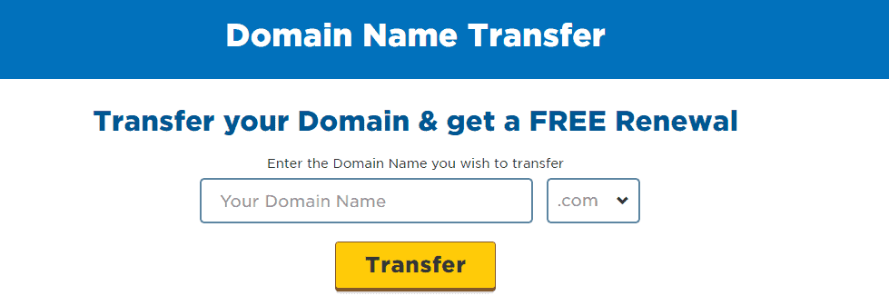 Domain Name Transfer Services Hostgator India
