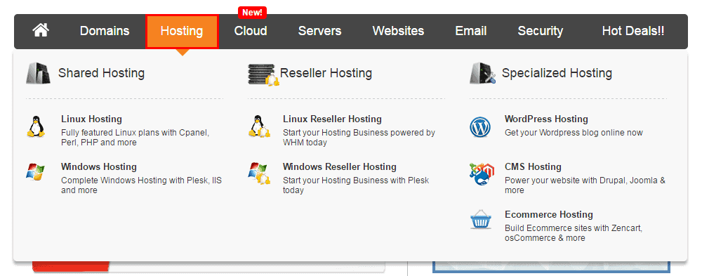 buy Web hosting
