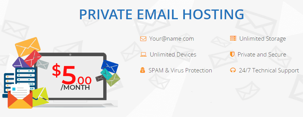Interserver Private Email Hosting Plan